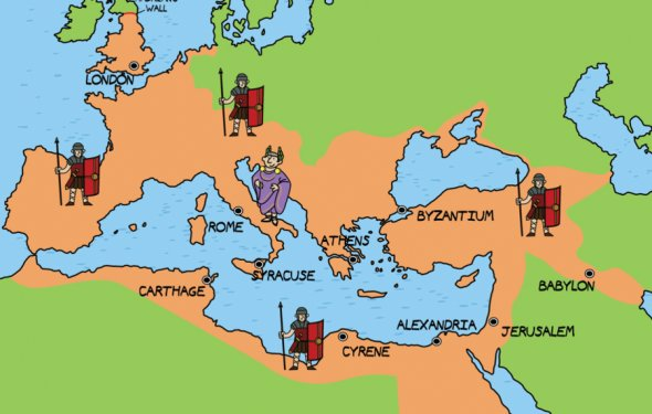 Ancient Rome, Greece Empire
