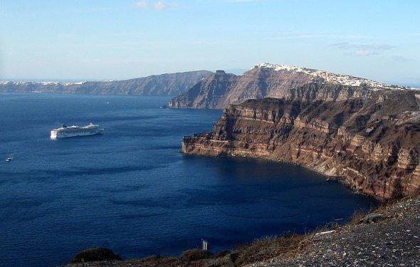 Caldera Santorini Caldera View