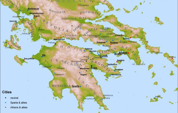 The Peloponnesian War[edit]