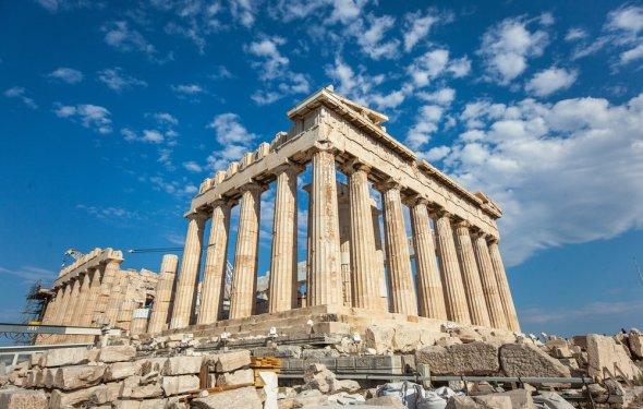 Acropolis Athens ruins