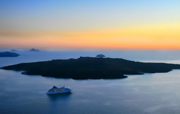 Fira Santorini Myth and