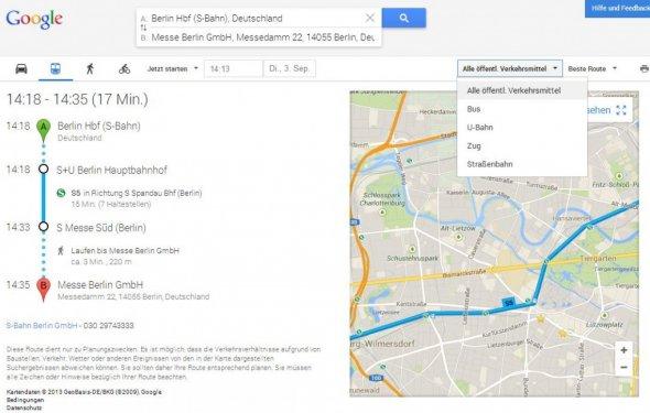 Google Maps Public