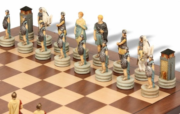 Rome & Greece Theme Chess