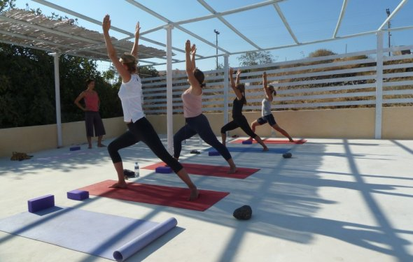 Yoga Retreat Santorini Greece
