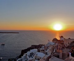 6. Watch the Oia sunset