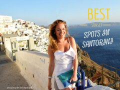 Best Sunset Spots in Santorini SANTORINI, GREECE: BEST SUNSET SPOTS
