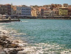 Chania waterfront Crete,  Greece - Exploring Chania,  Crete