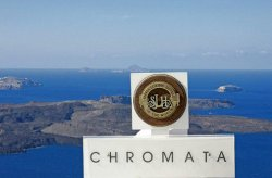 Chromata Hotel in Santorini, Greee