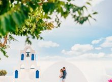 church wedding greece santorini Honeymoon Photo Session in Santorini Greece