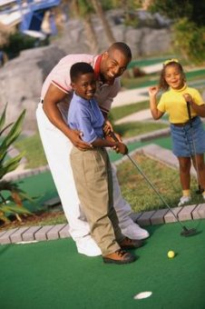 Families can enjoy miniature golf in Rochester any day of the week.