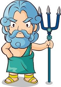 Greek God Poseidon