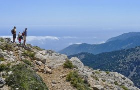 High above the sea