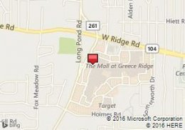 Map of Avis Location:Sears Auto Center - Greece Ridge Mall