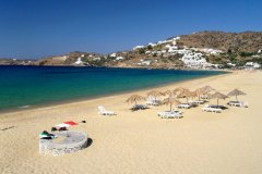 Milopotamos Beach on Ios in the Cyclades.