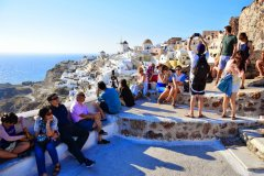 Oia 1 SANTORINI, GREECE: BEST SUNSET SPOTS