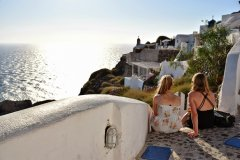 Oia 3 SANTORINI,  GREECE: BEST SUNSET SPOTS