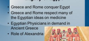 Egypt Greece and Rome