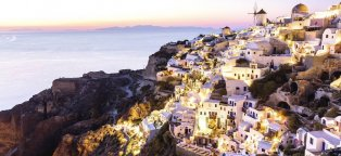 Flights to Santorini Greece