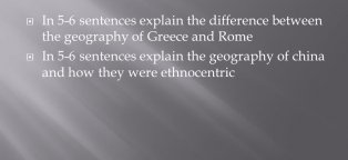 Geography of Greece and Rome