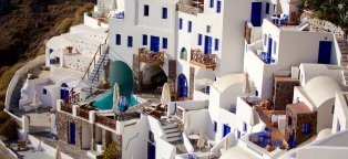 Santorini Greece all inclusive resorts