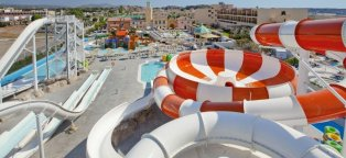 Water Park Rhodes Greece