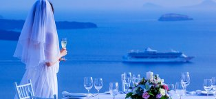 Weddings in Santorini Greece