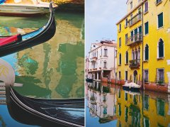 venice gondola photography
