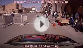 Alfa Romeo 156 GTs @ TrackDay Town Hall Rhodes - Greece