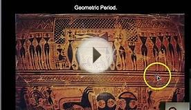 Ancient Greece: Geometric & Archaic Periods