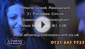 Athens Greek Restaurant Dance opposite Birmingham Town Hall
