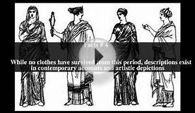 Clothing in ancient Greece Top # 7 Facts