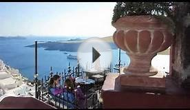 Fira, Santorini (Greece) - Caldera views