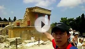 Greece - Crete - Heraklion and Palace of Knossos 2015