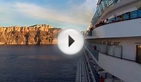 Mediterranean Cruise Vacations to Santorini, Greece