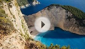 navagio beach greece map
