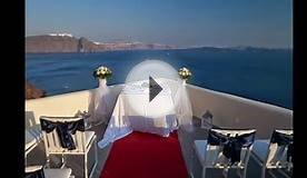 Santorini wedding in Canaves Oia by Marryme in Greece