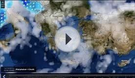 Weather Forecast for Greece and Cyprus 13/14 October 2015