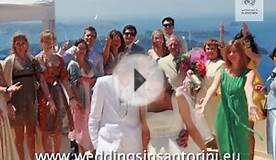 Wedding in Santorini, Weddings in Greece 2010