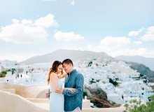 wedding santorini images 2015 Honeymoon Photo Session in Santorini Greece